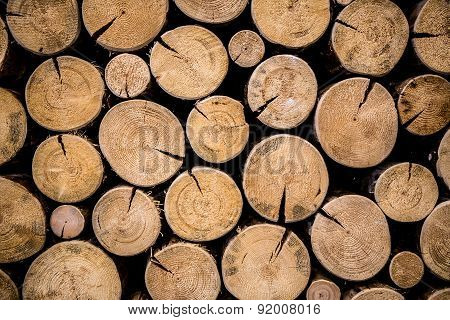 Photo of natural wood