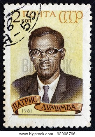 Postage Stamp Russia 1961 Patrice Lumumba, Premier Of Congo