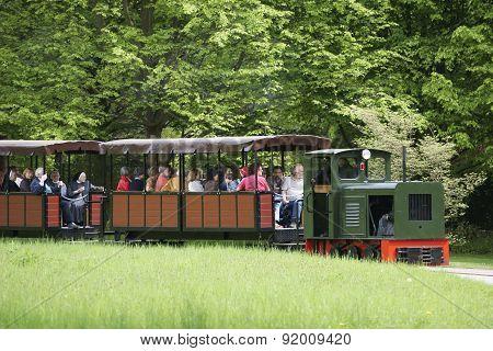 Park train Britz Garden