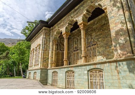 Saadabad Palace Exterior