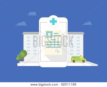 Hospital mobile application