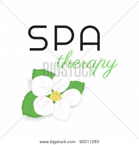 Spa therapy label