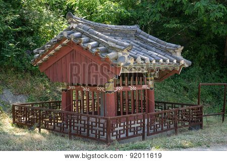 Small Shrine In Gangneung