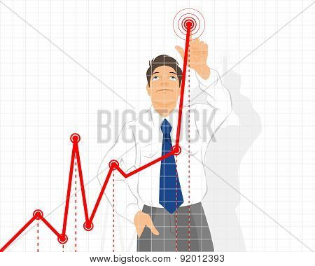Businessman With A Schedule