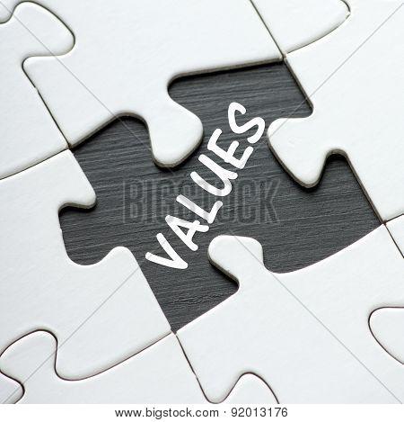 Values Puzzle