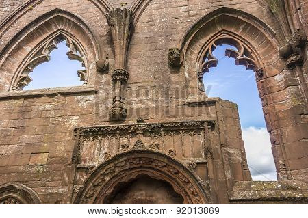 Lincluden Collegiate Church - Inside Close Up