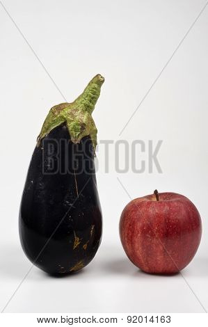 Eggplant And Apple