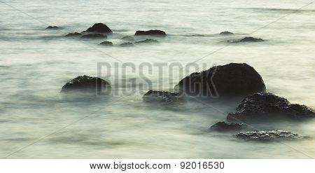 Rocks in the Surf