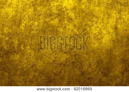 Earthy yellow gradient background image and design element