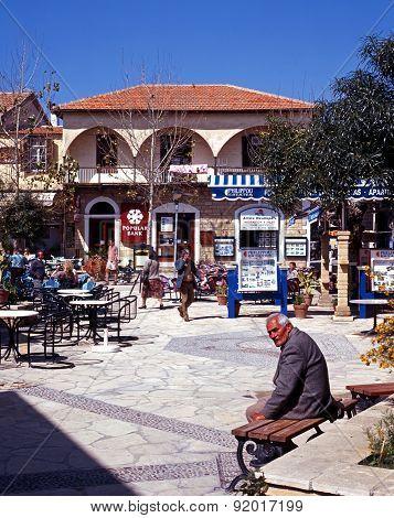 Polis town square, Cyprus.