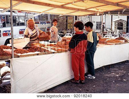 Market Stall, Cyprus.