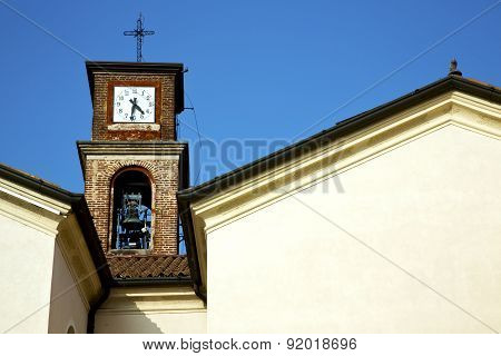 In Mozzate   Old   Church Tower Bell S Milan