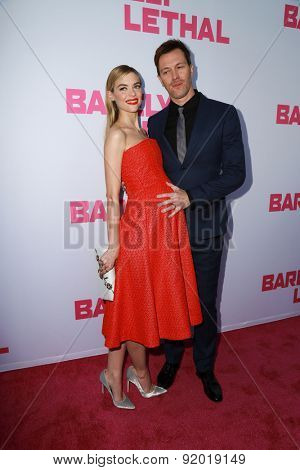 LOS ANGELES - MAY 27:  Jaime King, Kyle Newman at the