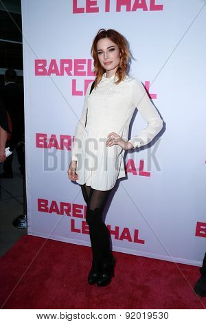 LOS ANGELES - MAY 27:  Chloe Dykstra at the