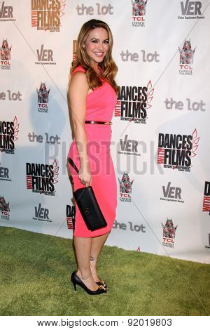 LOS ANGELES - MAY 28:  Chrishell Stause at the Dances With Films 2015 Opening Night Film