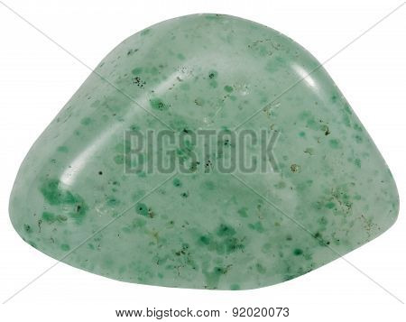 Pebble Of Green Quartz