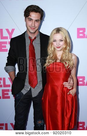 LOS ANGELES - MAY 27:  Ryan McCartan, Dove Cameron at the