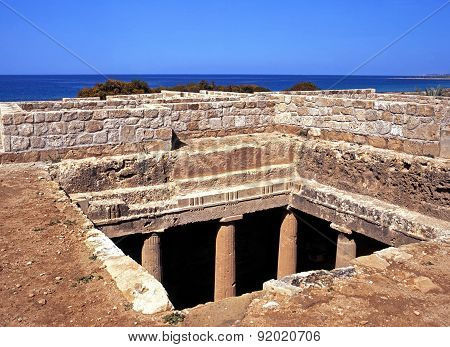 Tombs of the Kings, Cyprus.