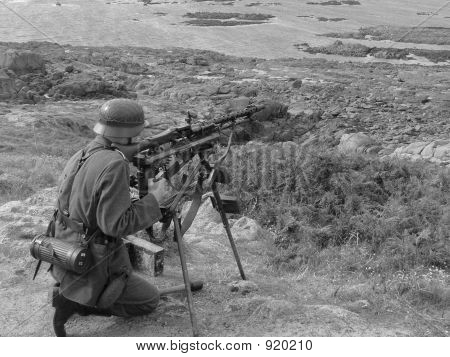 Guarding The Atlantic Wall
