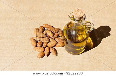 Bottle Of Almond Oil