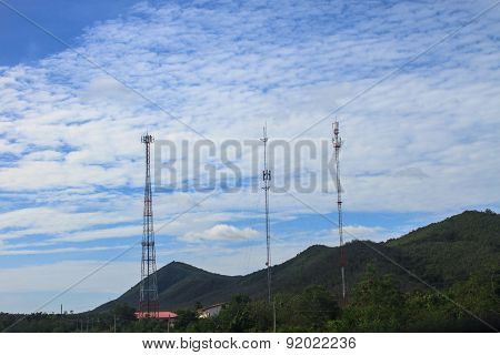 Difference of Telecommunication tower
