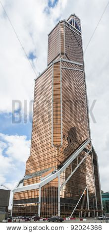 Moscow. Mercury Tower.