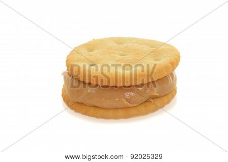 peanut butter cracker snack