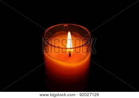 Candlelight Aromatherapy And Relaxing Background.