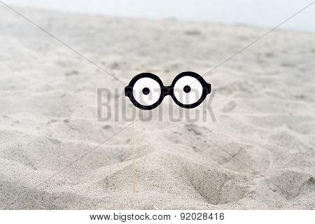 False  funny glasses