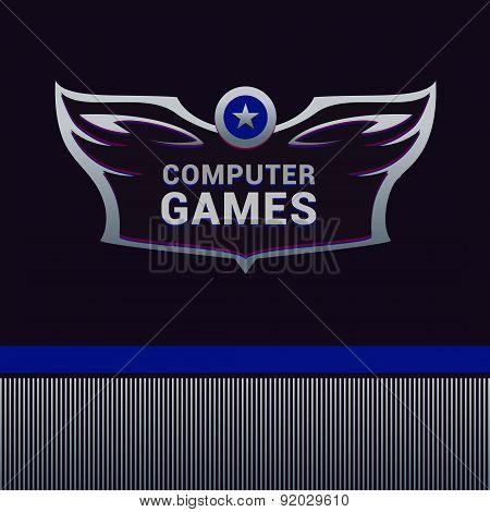 Computer Games vector logo
