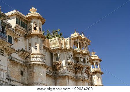 Udaipur Palace detail