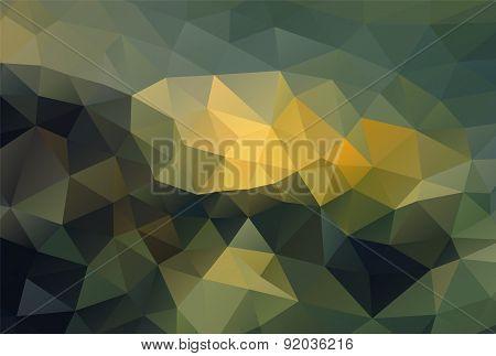 Polygon Background Dark Ground