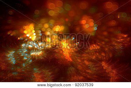 Orange And Yellow Circles