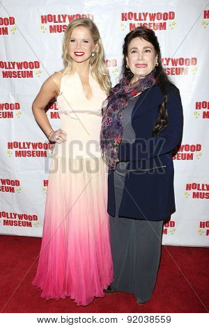 LOS ANGELES - MAY 27: Crystal Hunt, Donelle Dadigan at the Marilyn Monroe Missing Moments preview at the Hollywood Museum on May 27, 2015 in Los Angeles, California