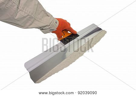 Tools for plastering