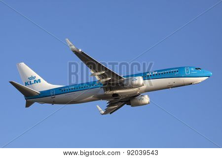 The new colors of the klm.