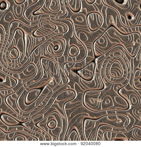 Metal Bumps Seamless Generated Hires Texture