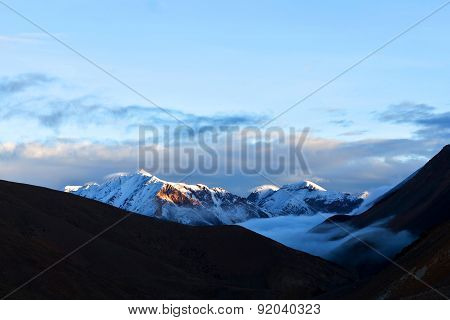 Himalaya Mountain Landscape In Dolpo Region, Nepal