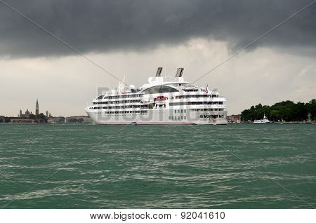 Cruise Ship Le Lyrial at Venice