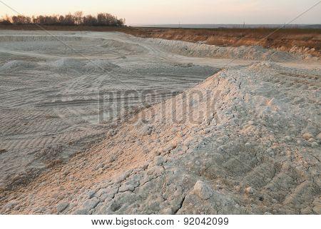 Quarry in the Czech Republic