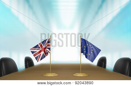 United Kingdom and European Union relations and trade deal talks