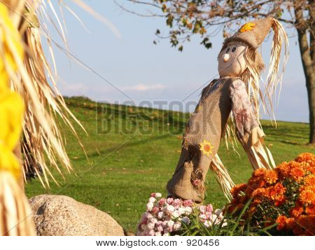Holiday Scarecrow