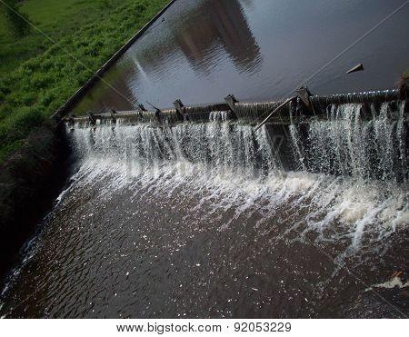 Small Waterfall In Minneapolis