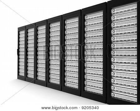 Fila de High-End Server