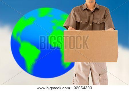 Global Parcel Delivery Worker