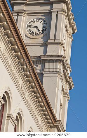 Clocktower on a Victorian Era Post Office in Australia