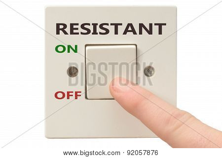 Anger Management, Switch Off Resistant