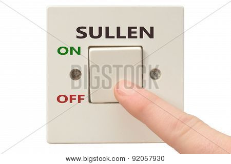 Anger Management, Switch Off Sullen