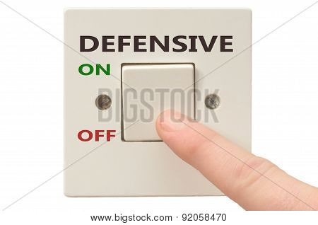 Dealing With Defensive, Turn It Off