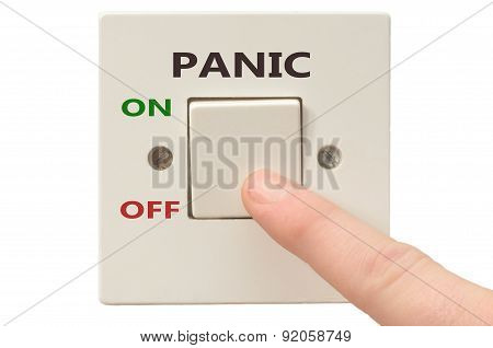 Dealing With Panic, Turn It Off